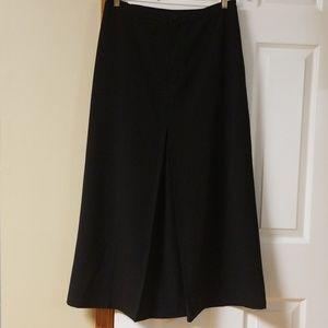 Chico's black long skirt